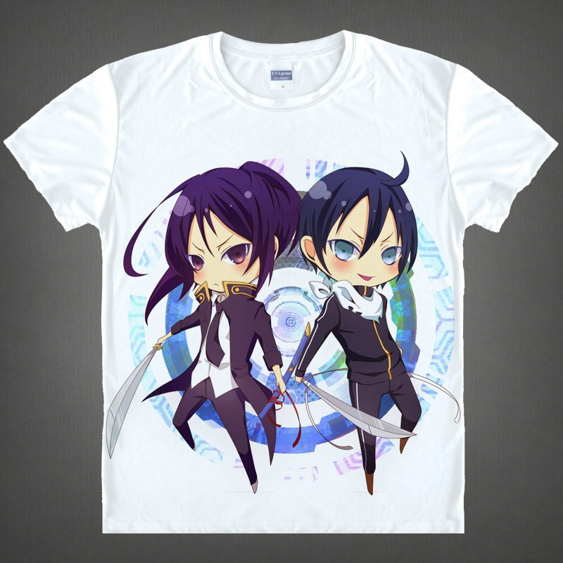 Japanese Noragami Stray God anime sports t-shirt anime Yato Yukinecotton shirt Cosplay christmas halloween Costumes clothing  HTB184YwGFXXXXa7XpXXq6xXFXXXk