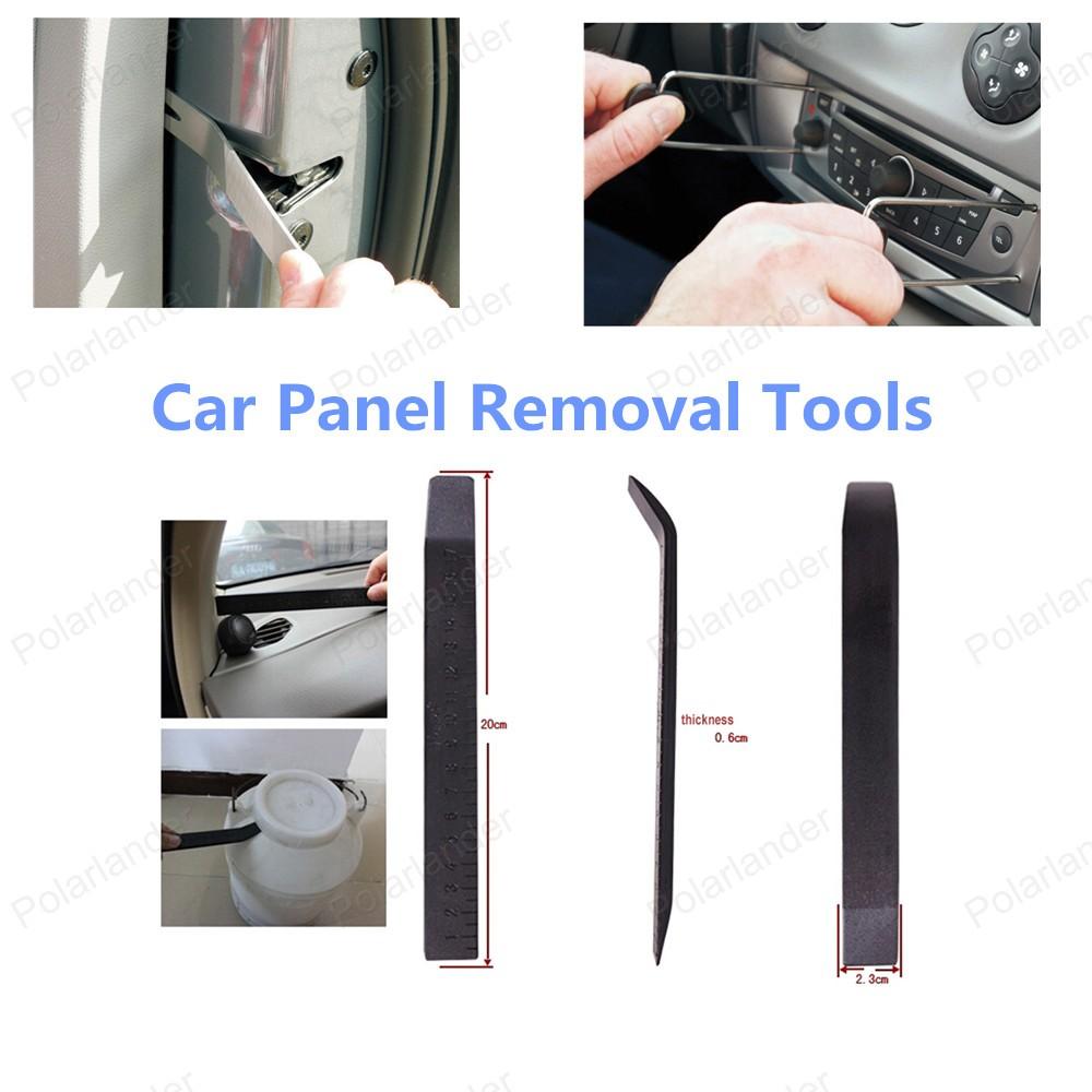 Бесплатная доставка продажа автомобилей панель удаления инструмента-автомобилей ремонт комплект инструментов комплект инструментов 17 шт.
