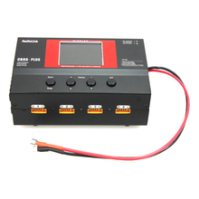 F17679 RadioLink CB86 Plus 6A 220W Balance Charger for RC 8 Pcs 2-6S LiPo Battery at One Time for RC Helicopter Drone Toys
