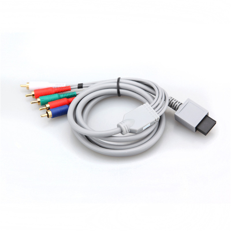 Newest !! Top Selling High Definition 480P HD AV Audio Video Adapter HDTV Component Cable Wire For Nintendo For Wii Game<br><br>Aliexpress