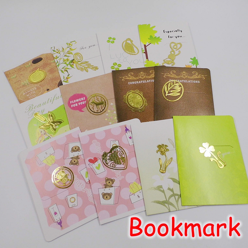 [FORREST SHOP] High Quality Novelty Gift Gold Metal Vintage Bookmark For Books Clips (50 pieces/lot) FRS-69<br><br>Aliexpress