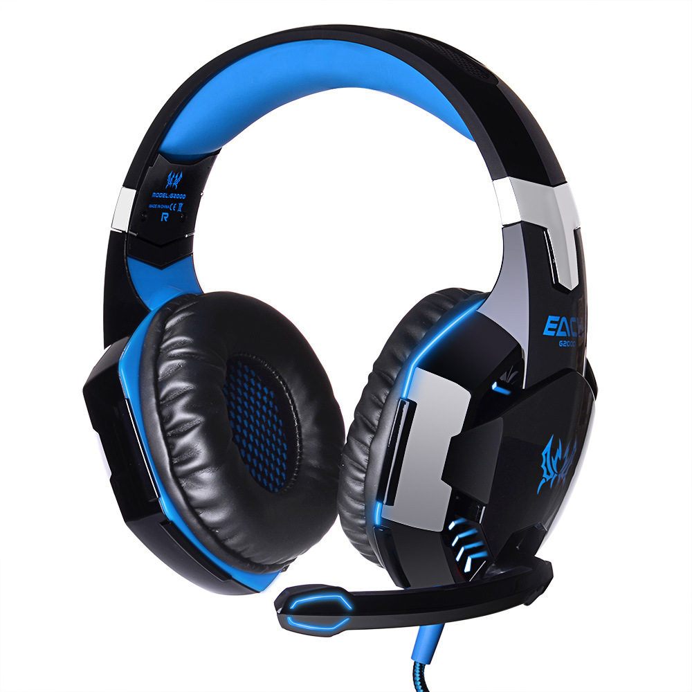 EACH G2000 G4000 Splendid Game Deep Bass headphone HIFI Stereo Headset With Microphone LED Light for Computer PC Gamer