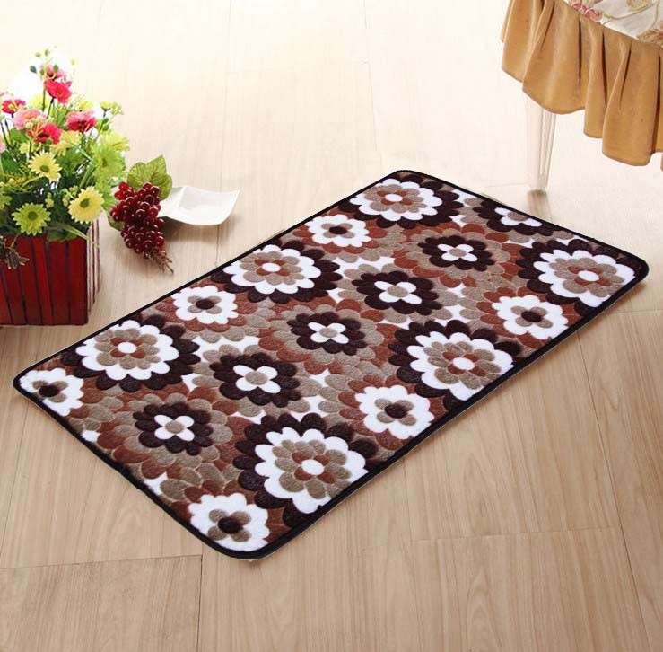 Wildlife Bathroom Rugs: Xy-rustic-coral-carpet-bathroom-pad-entrance-mats-rugs-for