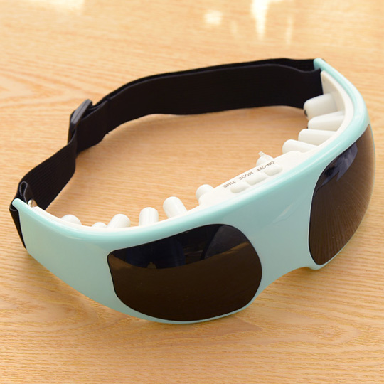 New Mask Migraine Eye Health DC Electric Care Forehead Eye Massager relax vision massage eyes glasses,ty15043(China (Mainland))