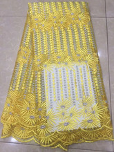 Buy Yellow Swiss voile lace switzerland African French Lace Fabric High African Tulle Lace Fabric Wedding 731/160/jk for $55.53 in AliExpress store