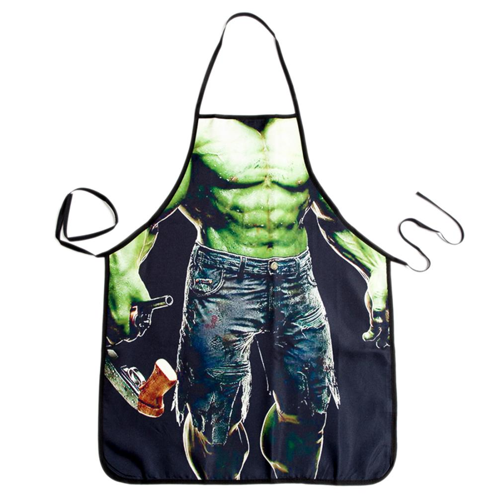 Sexy Funny Cooking Kitchen Apron Man Sexy Dinner Party Apron Christmas Gift(China (Mainland))