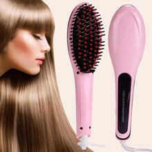 2016 New Brush Hair Straightener Comb Irons LCD Display Electric Straight Hair Comb Straightening(China (Mainland))