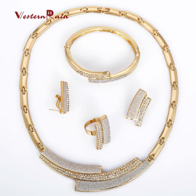 WesternRain 2015 New Design Women Jewelry,Rhinestone 18k Gold ...