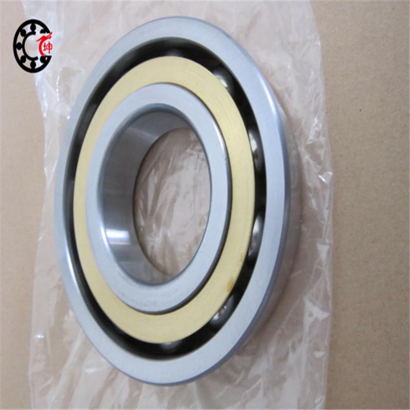 Фотография 90mm diameter Angular contact ball bearings 7318 BM 90mmX190mmX43mm Brass cage ABEC-1 Machine tool ,Blowers