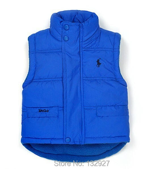 2015 New Spring Autumn Girl Boy Child Cotton Vest Padded Waistcoat vest - winter down coat Factory direct store