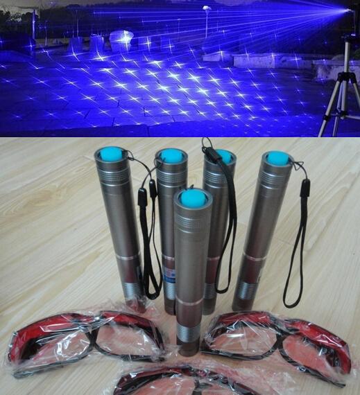 Good Quality 2015 newest 8000000mw Adjustable Focus blue Laser Pointer Flashlight burning Free shipping(China (Mainland))