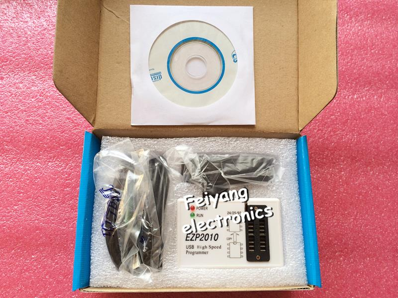 produto 1pcsfree shipping EZP2010 high-speed USB SPI Programmer support24 25 93 EEPROM 25 flash bios chip