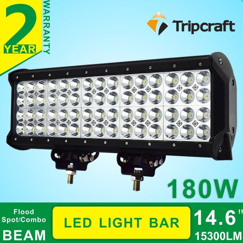Waterproof IP67 Rate 4 Rows 14.57 Inch 180W CRE E LED Work Light Bar Led Ramper CE RoHs IP67 certification(China (Mainland))