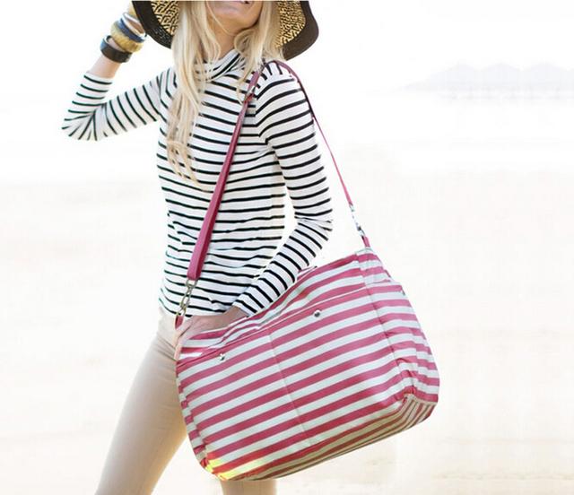 Детские пеленки мешок полосы мумий беременным сумка мода hobos мешок лангер bebe ...