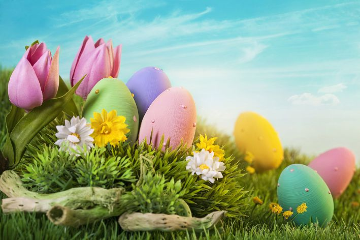300cm*200cm Easter Day Egg green hillside fotos easter photography backdrops ZJ
