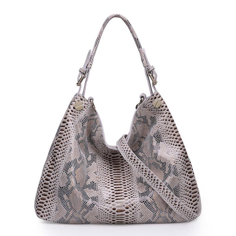 Здесь можно купить  New 2015 High Quality Leather Bag Serpentine Genuine Leather Women Brand Handbag Design Totes Tassel Shoulder Bags   Камера и Сумки