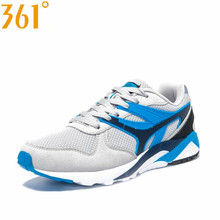 361 Men's Spring Autumn Outdoor Breathable Camping Shoes Lightweight Damping Training Sport Shoes 5715B3G69