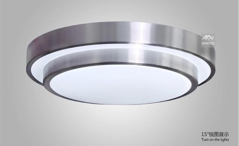 99% OFF LED ceiling lights Dia 285mm,aluminum Acryl High brightness 220V 230V 240V,Warm white/Cool white 5W 12W 15W 24W Led Lamp(China (Mainland))