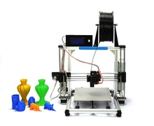 HIC High Precision Reprap Prusa i3  Aluminum  Frame 3d Printer  for  DIY modeling