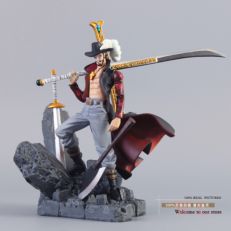 Banpresto Figure Colosseum One Piece Dracule Mihawk / Monkey D Luffy PVC Figure Collection Toy