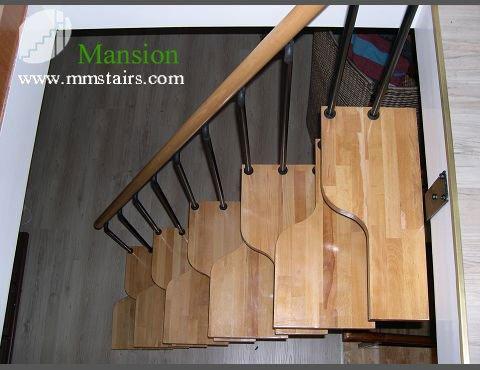 Diy steel stairs steel wood staircase mini stairs for Diy wood stairs