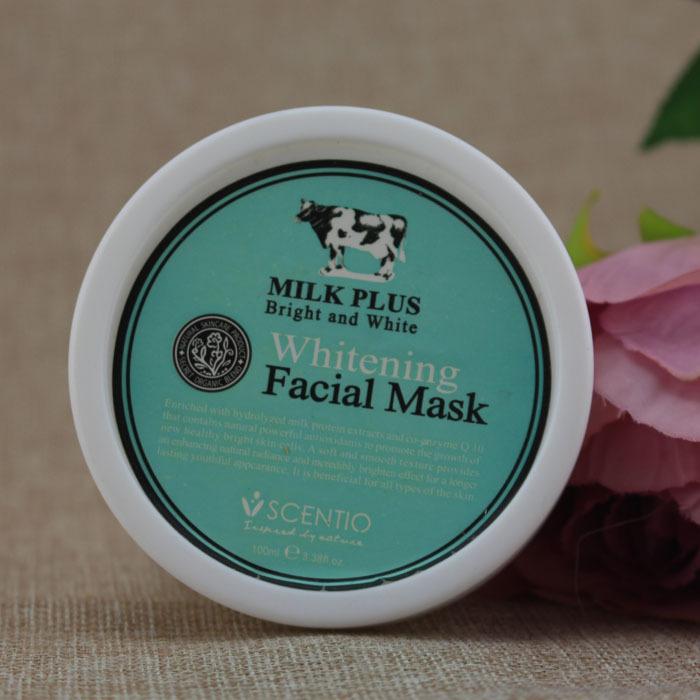 Thailand Q10 Whitening facial Mask 100g milk(China (Mainland))