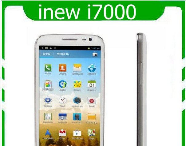 "DHL Fast Delivery Inew I7000 5"" MTK6589 Quad Core android 4.2 IPS 1280X720 1GB/16GB DUAL CAMERA DUAL SIM GOOGLE 3G GSM PHONE(China (Mainland))"