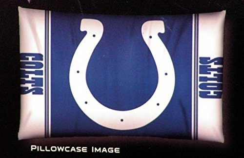 Home pillow protectors cases Soft Flanel Standard Size 20x30 inch with Lowest Price Indianapolis Colts For Sports Fan(China (Mainland))