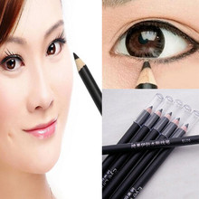 2016 Waterproof Eyeliner Pencil Black Not Blooming Pen Make Up Beauty Cosmetic E1157(China (Mainland))