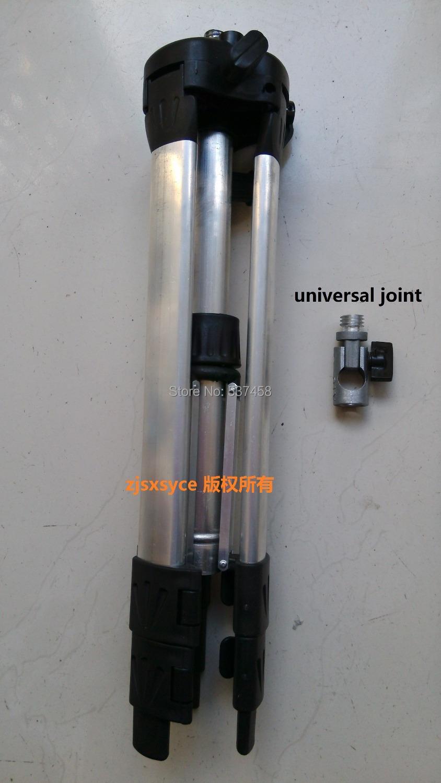 1.2m Aluminum tripod and adapter,good packing ,swivel head laser level tripod .universal joint , adjustable tripod free shipping(China (Mainland))