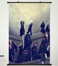 Anime Naruto Home Decor Japan Wall poster Scroll Uzumaki Naruto
