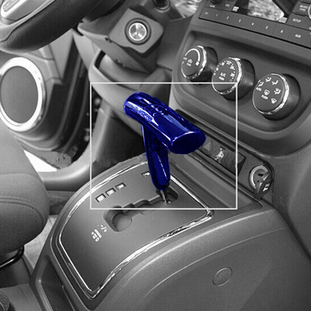 1Pcs-Set Blue T-Handle Shift Knob Shifter For Jeep Jcuv Dodge Chrysler Challenger/Charger(China (Mainland))