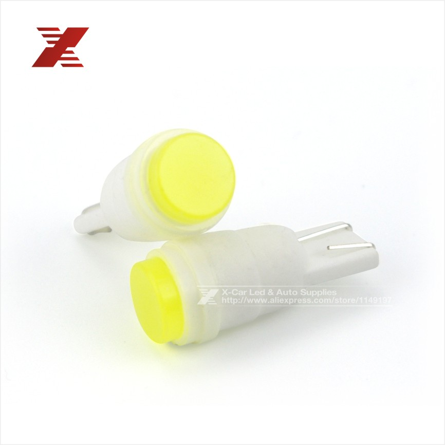 10xBig Promotion White T10 1.5W W5W 194 168 Car Auto Ceramic High Power LED Side Wedge Dome Lights License Plate Lamp Bulb DC12V(China (Mainland))