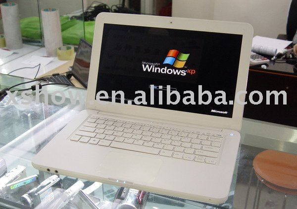 13.3 inch dual core laptop with dvd max supported 2gb 500gb mini laptop touch pc(China (Mainland))