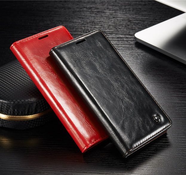 Original CaseMe Brand Genuine Leather Case for Sony Xperia Z5 With Stand Magnetic Auto Flip Leather Cover for Sony Xperia Z5(China (Mainland))