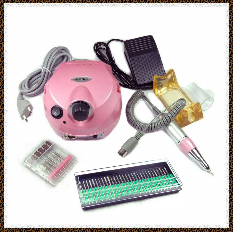 30000RPM US-202 Electric Nail Drill File Machine for Nail Art Manicure Pedicure Polish supplier + 30 drill bits(China (Mainland))