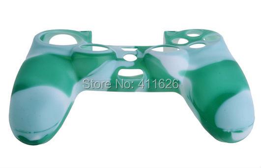 For Ps4   Silicon Camo Green/White Case Skin Cover  Mod <br><br>Aliexpress