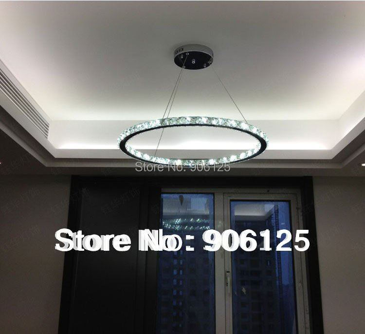 Modern LED Crystal Pendant Light Lamp Fixture Contemporary