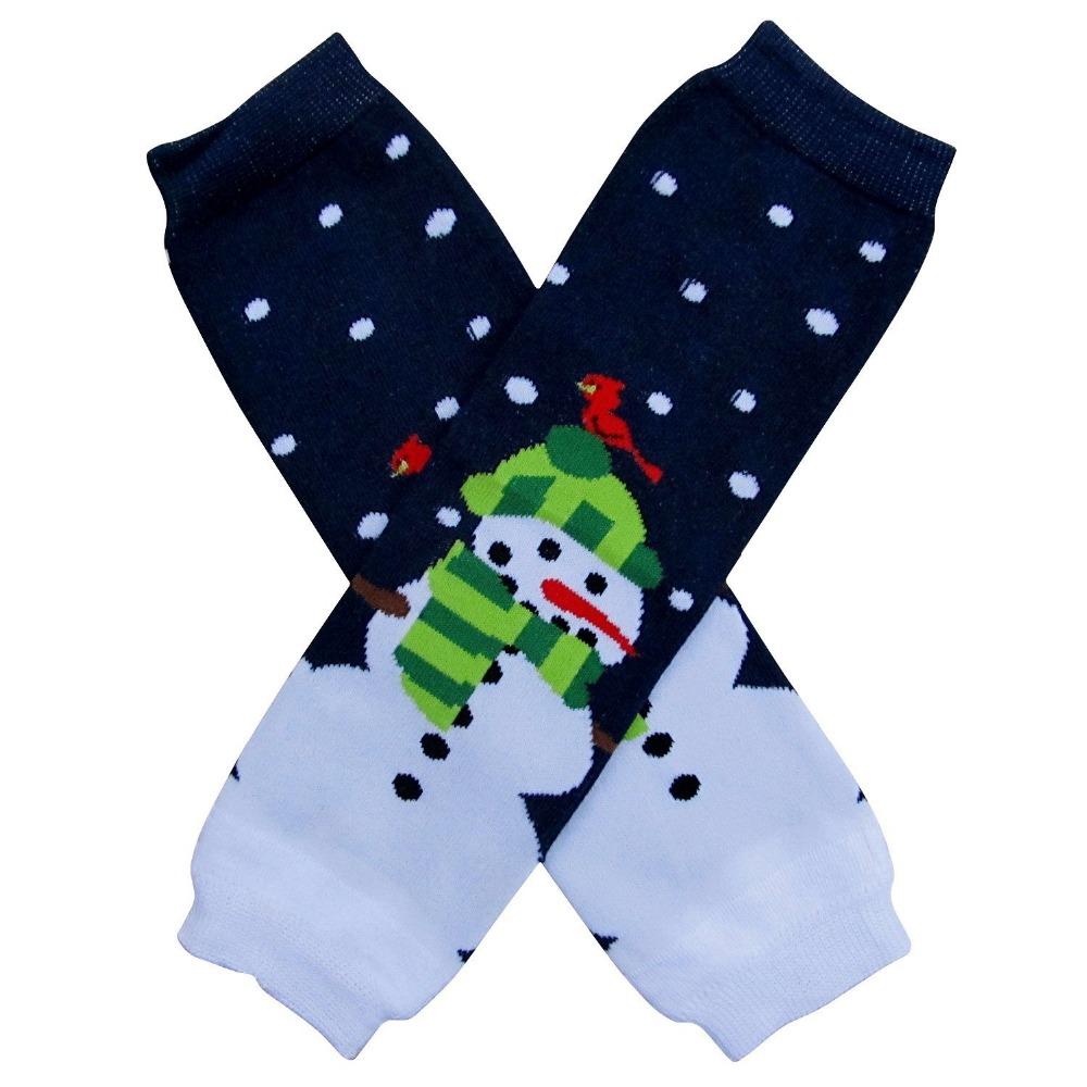 Baby Christmas leg warmers kids soft dot striped leggings good quality crawling kneepad socks adult arm warmer 20styles(China (Mainland))