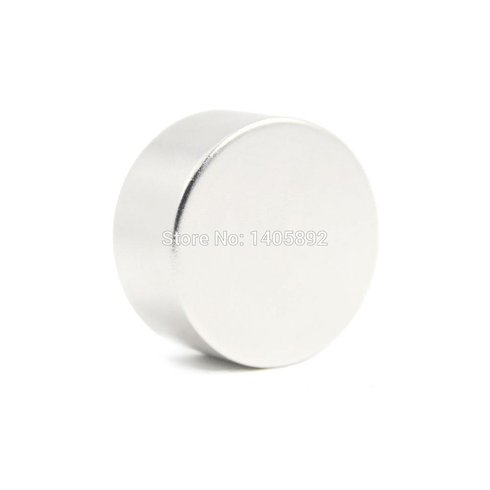 Фотография 1pcs Super Powerful Strong Bulk Small Round NdFeB Neodymium Disc Magnets Dia 100mm x 20mm N35  Rare Earth NdFeB Magnet