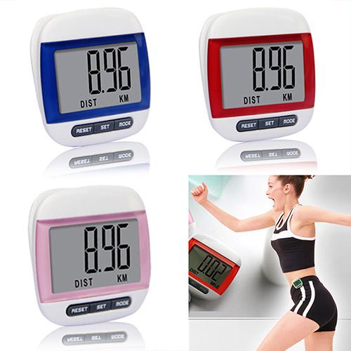 Гаджет  New Mini Waterproof Step Movement Calories Counter Multi-Function Digital Pedometer  None Спорт и развлечения