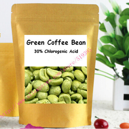 Green Coffee Bean Extract Powder 30 Chlorogenic Acid 250gram free shipping