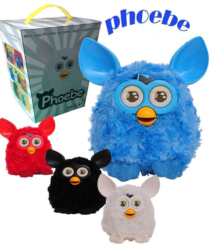 Firby Boom Electronic Baby Learning & Educational Plush Phoebe Elves/Firbi Electric Pet Toys Kid Talking Interactive Toys j419(China (Mainland))