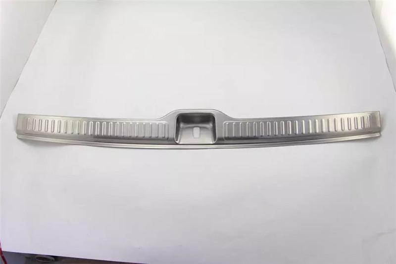 Фотография 1pc S.Steel Interior Rear Tail Bumper Sill Plate Cover Trim For Mercedes Benz GLC Class X205 GLC200 GLC250 GLC300 2015 2016