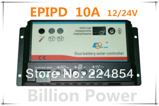 New arrive Supply High quality  PWM Solar controller   BP-C-EPIPD 10A<br><br>Aliexpress