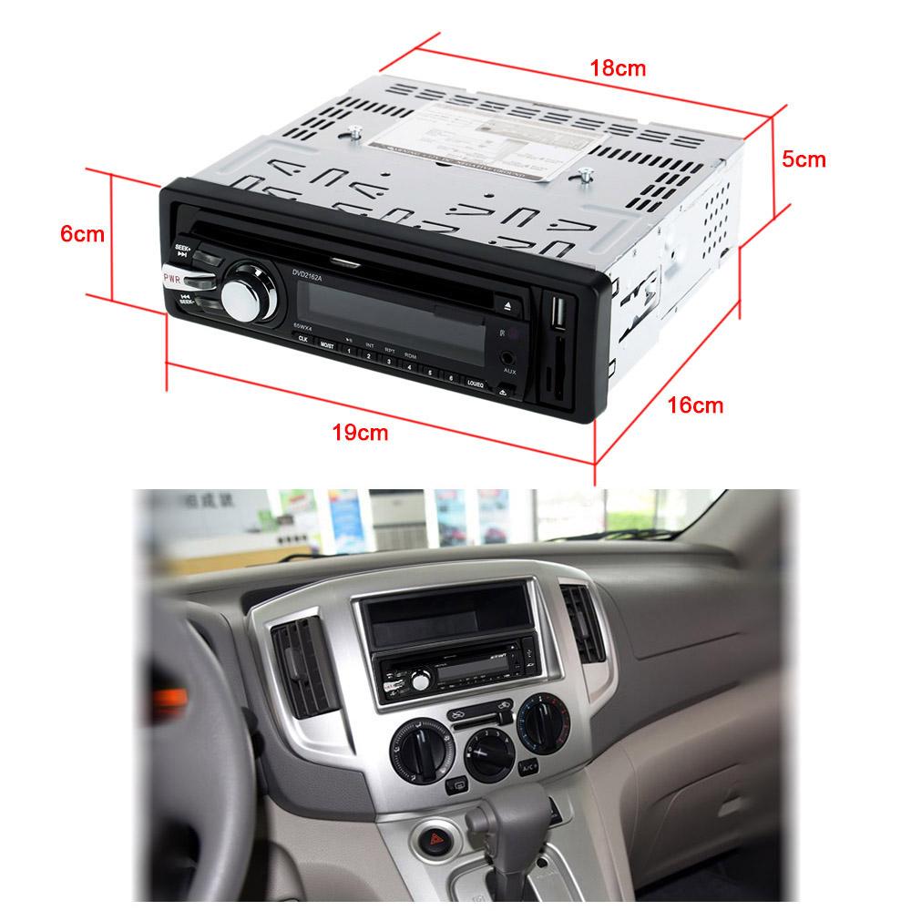 Car MP3 CD Receiver Stereo Aux FM Audio Player USB SD Slot Detachable Panel DVD/DIVX/MPEG4/VCD/WMA/CD/CD-R/RW(China (Mainland))