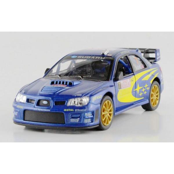 Children Kids Kinsmart Subaru Impreza WRC 2007 Model Car 1:36 KT5328 5inch Diecast Metal Alloy Cars Toy Pull Back Gift(China (Mainland))