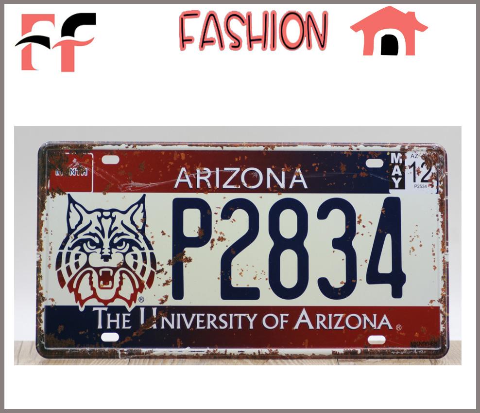 Newest Vintage Metal Tin Signs The University Of Arizona