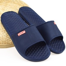 HOT !!Low EVA Couples summer slippers home indoor interior floor flat sandals and slippers bathroom slippers with non-slip soles