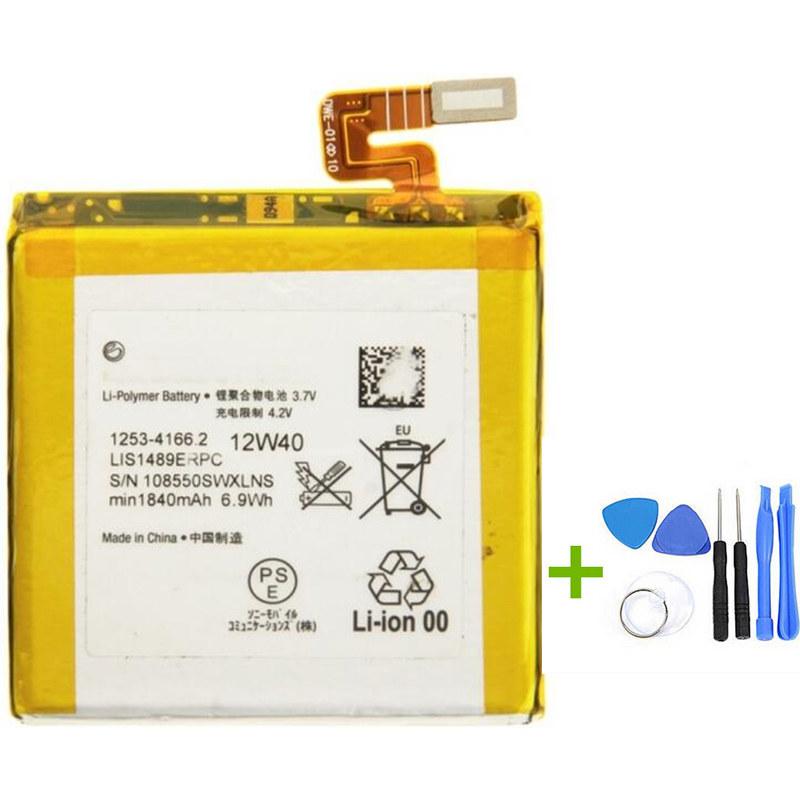 New 1840mAh Original Battery Replacement for Sony Xperia Ion LT28i LT28 LT28at LT28H +Tools